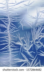"""Window frost, sometimes called """"Jack Frost"""""""