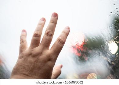 window glass car rain panel