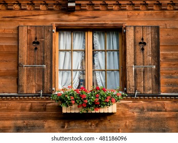Window - Grindelwald, Switzerland