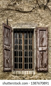 Window of Jean-Jacques Rousseau's house on Chambéry, France