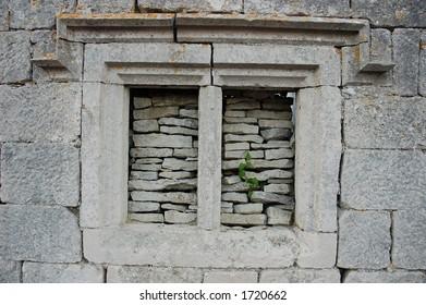 Window made of Stone