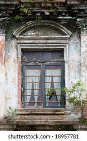 Window of an old building