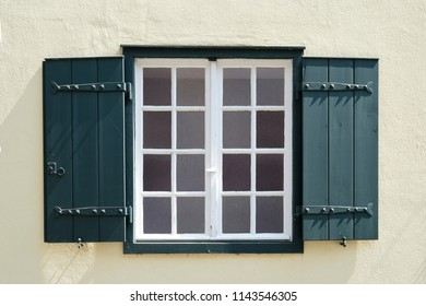 Window of a old building in nordrhein-westfalen
