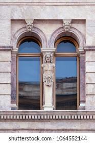 Window of an old building, Saint-Petersburg