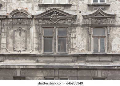 Window of an Old House , Krakow, Lesser Poland, Poland, Europe