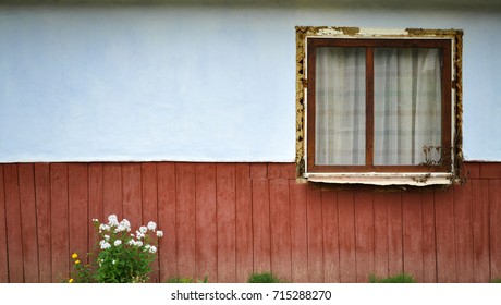 The Window on the Facade of Ukraine House .