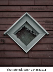 A window on an old building