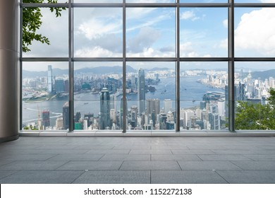 From the window overlooking hongkong