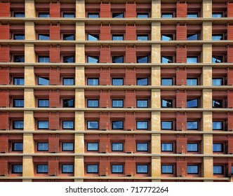 Window pattern of modern building