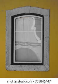 window with reflection