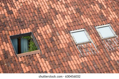 window in the roof