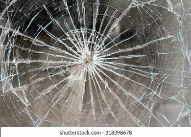 A window shop broken background