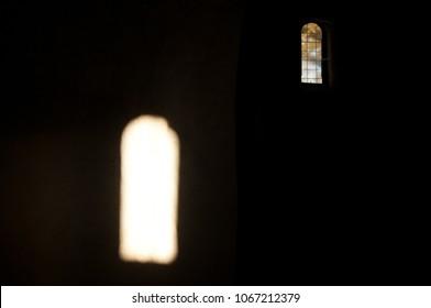 Window siblings in a church