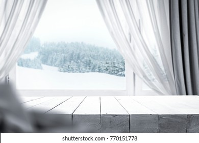 Window sill and desk space for your decoration