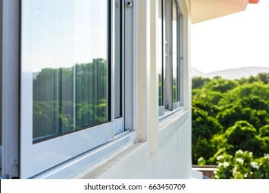 Window sliding and Mosqito window screen