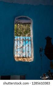 Window style house, Aswan, southern Egypt,.