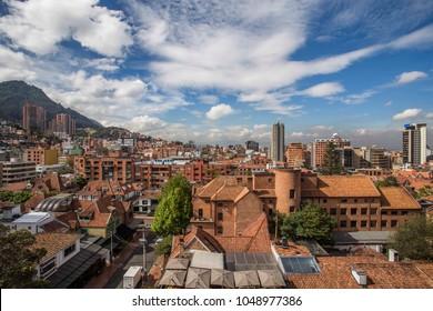Window view bogota Colombia
