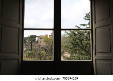 Window view, Vatican city