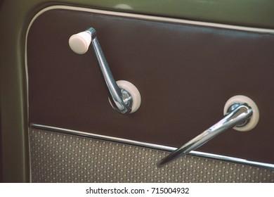 window winder and door knob