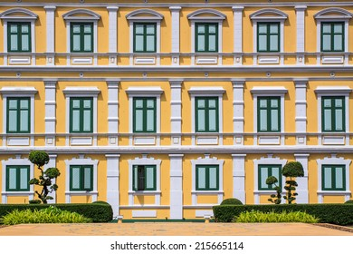 Windows Beautiful Color of the building