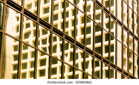 windows of business building