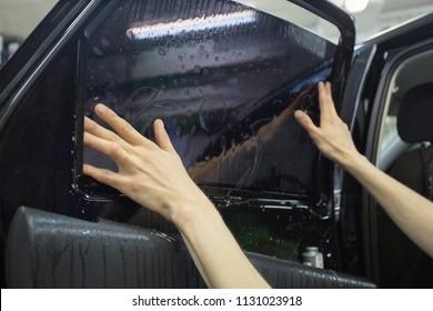 windows film and car