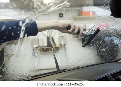 windows film installing