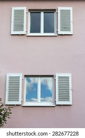 Windows from a house