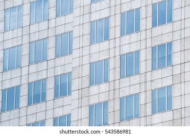 Windows office buildings.