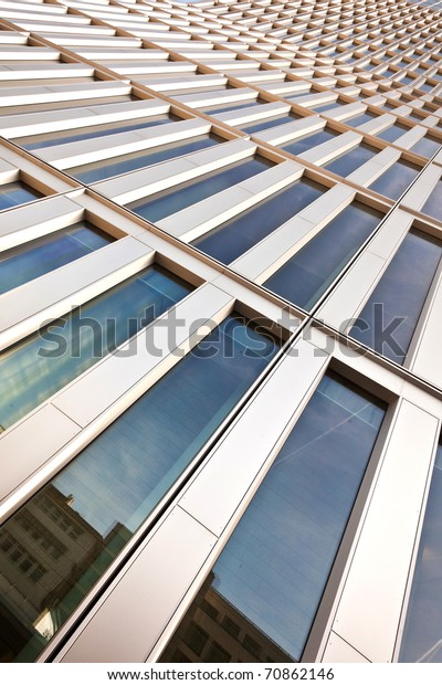 Windows Office Buildings Cool Business Background Stock Photo ...