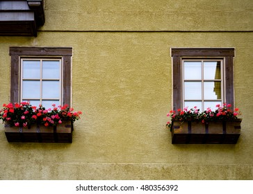 Windows on a wall