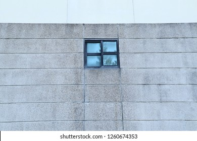 windows outside the building