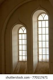 windows as part of the interior, urban landscape