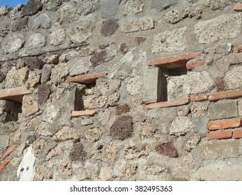 windows at pompeii