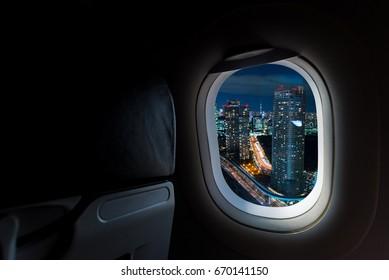 windows porthole in aircraft see Beautiful destination travel