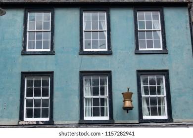 windows of Scottish houses scotland united kingdom europe