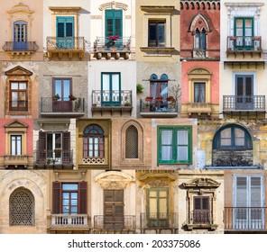 Windows from Sicily