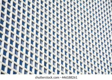 windows of skyscraper