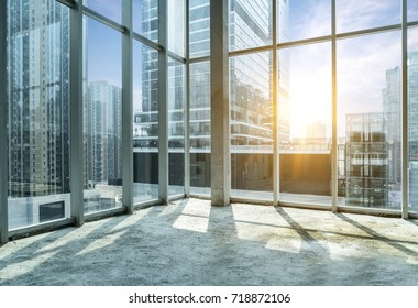 Windows of Skyscraper Business Office