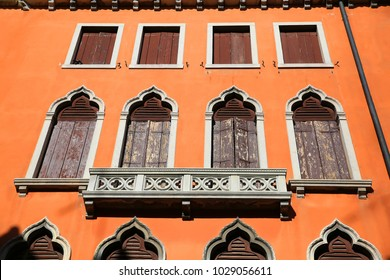 Windows from Venice, Italy