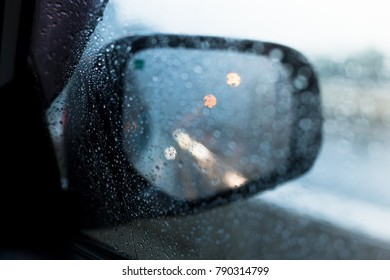 The windscreen at the time of the rain. That's a sad moment. Select focus point.