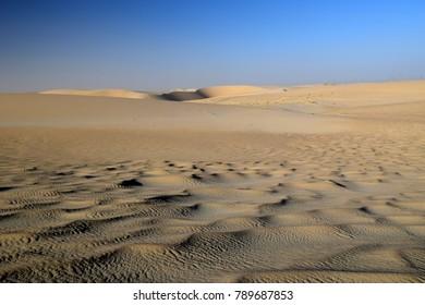 Wind-Sculpted Ripples in the Arabian Desert, Eastern Province, Dammam, Eastern Province, Saudi Arabia