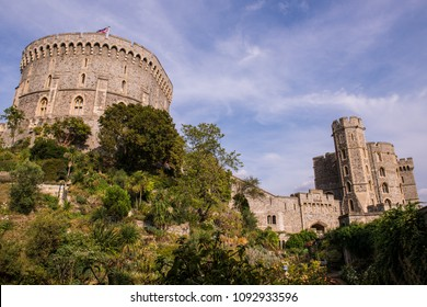 Windsor Castle in England was built in the 11th Century and is the residence of the British Royal Family.