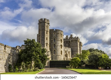 Windsor Castle near London, UK