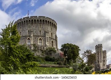 Windsor Castle near London, UK in autumn