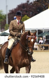 WINDSOR - MAY 11: Performers take part at Royal Windsor Horse Show, largest equestrian Show in the UK, on May 11, 2006 in Windsor, UK. The event has been running for over 65 years at Windsor Castle.