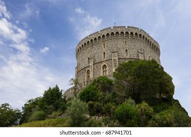 Windsor royal castle,UK,June 27,2017
