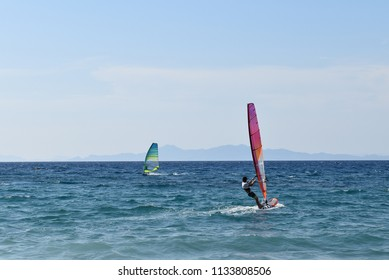 Windsurf - Ixia beach - Rhodes island - Greece