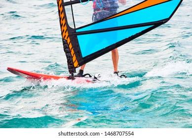 Windsurfer Images, Stock Photos & Vectors | Shutterstock