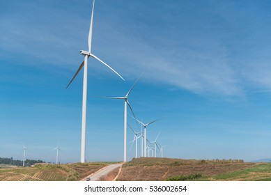 Windtime Khao Kho is a power generation projects using wind energy from wind turbines